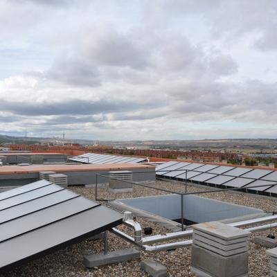 INSTALACION DE ENERGIA SOLAR TERMICA EN EDIFICIO DE 101 VIVIENDAS BIOCLIMATICAS EN TOLEDO