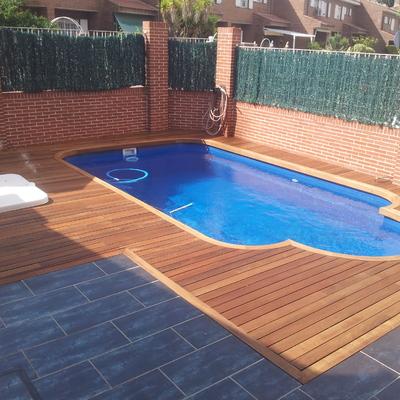 Entarimado de lujo para piscinas