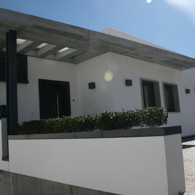 Vivienda unifamiliar contemporanea