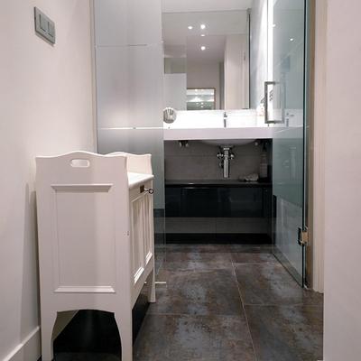 Entrada del baño en suite