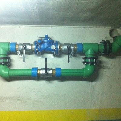 Instalaciones de agua comunitarias en tuberia de PP-R en grandes diametros, Madrid