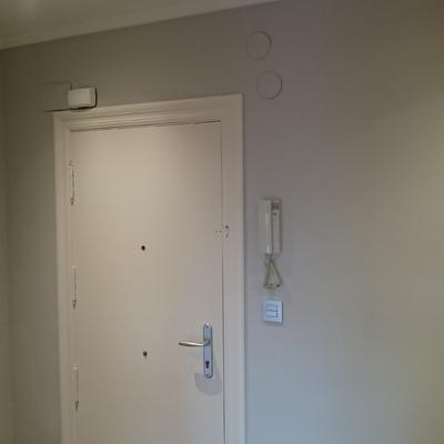Instalación eléctrica completa en piso