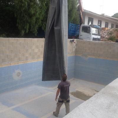 Deposito para recoger aguas pluviales