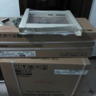 Instalación aire acondicionado con bomba de calor Fujitsu