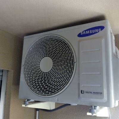 Instalación aire tipo split