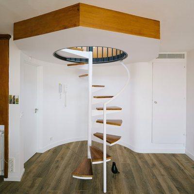 Ideas y fotos de escaleras para inspirarte p gina 3 - Escaleras telescopicas precios ...