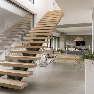 El cemento en la decoración del hogar