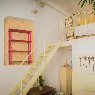 Bonito apartamento vintage de tan sólo 14 metros cuadrados