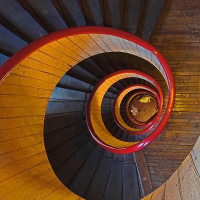 Escaleras de 'Vértigo' que a Hitchcock le hubiesen encantado
