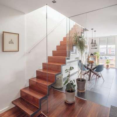 escalera colgadas