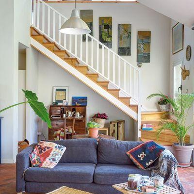 6 ideas que puedes robar para decorar unas escaleras