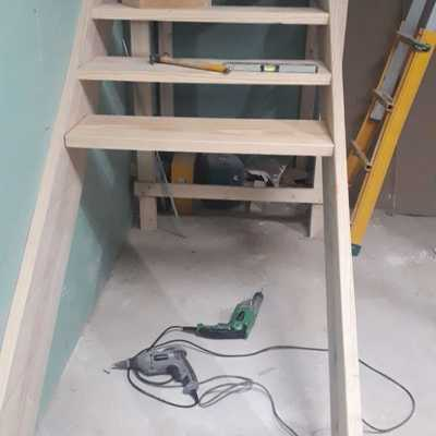 Demolición escalera