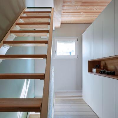 Ideas y fotos de escaleras de estilo r stico para - Modelos de escaleras de casas ...