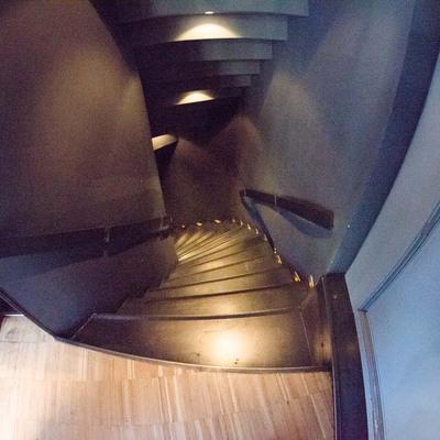 Escalera de planta de superior