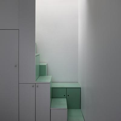escaleras de sótano