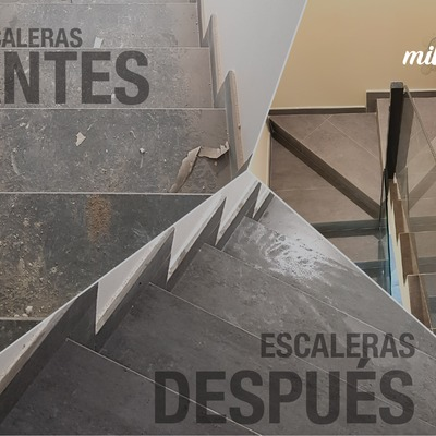 Desmanchado Escaleras Fin de Obra