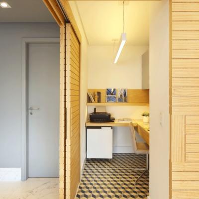 Almacenaje + escritorio: estas zonas de trabajo son ideales y prácticas