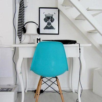 escritorio hueco escalera