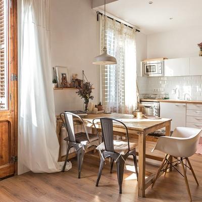 Un apartamento conmovedor y sereno en el centro de Barcelona
