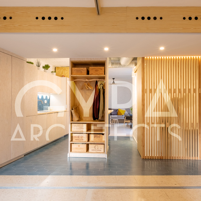 Arquitectura de interior. Casa HOMEPING.