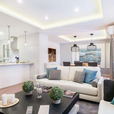 7 Trucos ópticos para agrandar tu casa