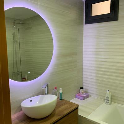 Reforma manteniendo bañera