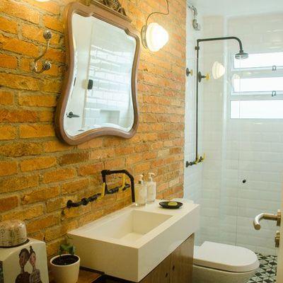 8 baños low cost que te inspirarán a cambiar el tuyo