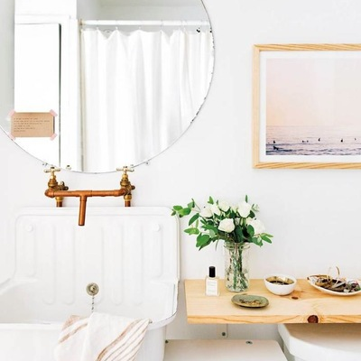 6 tendencias decorativas que puedes aplicar en el baño este 2017