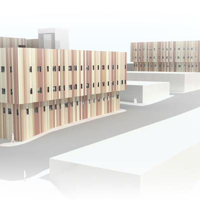 Edificio de viviendas en Sepes, Melilla