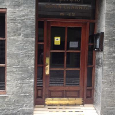 Cambio de puertas edificio