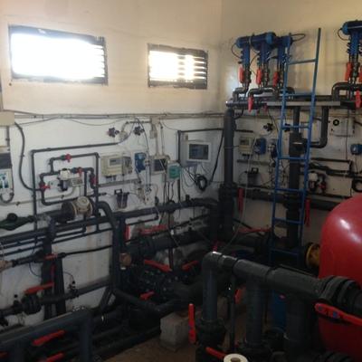 Reforma/ rehabilitación de una sala de depuradoras en La Puebla de Alfinden en Zaragoza