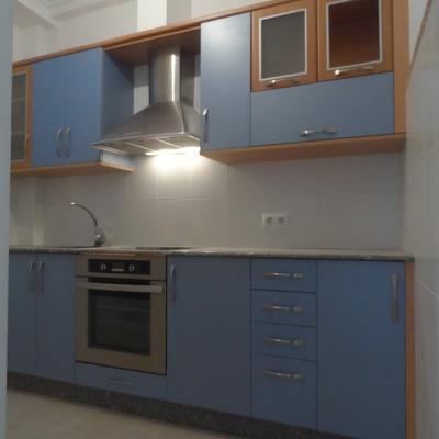 Reforma de cuarto de baño y cocina para piso de alquiler