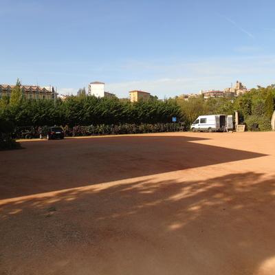 Hormigón impreso en Laguardia, La Rioja (fase 2)