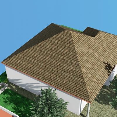 Reforma de tejado en chalet