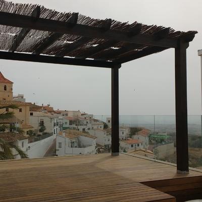 Transformación de Cubierta en Terraza Mirador