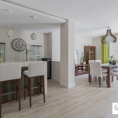 Proyecto de interiorismo con reforma integral de vivienda unifamiliar