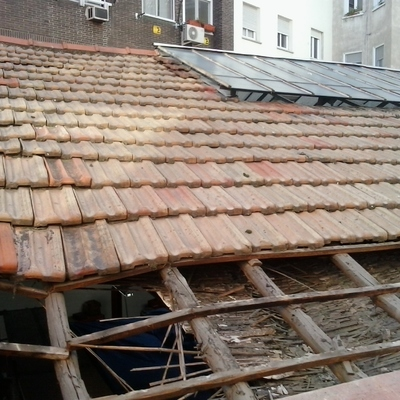 Rehabilitación integral tejado
