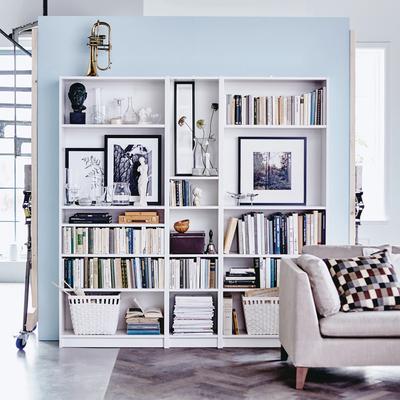 9 super ideas para ordenar tus estanterías con estilo
