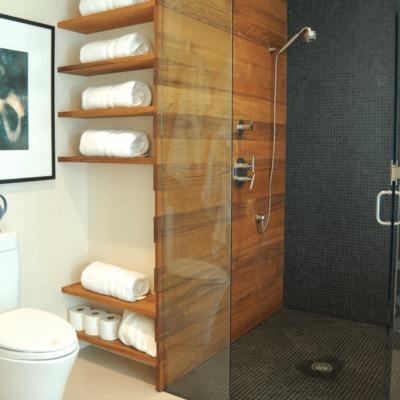6 ideas para organizar un baño sin apenas almacenaje
