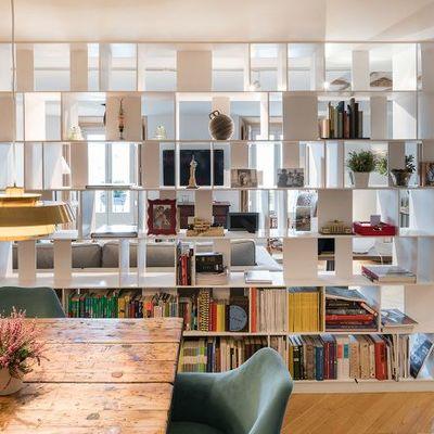 8 ideas de almacenaje geniales para tu salón