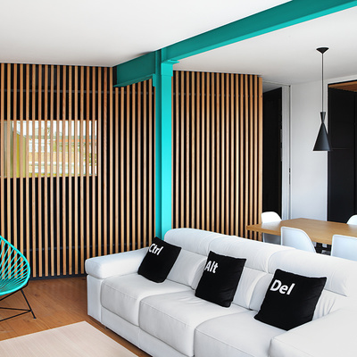 Una casa de vacaciones en plena ciudad de Madrid