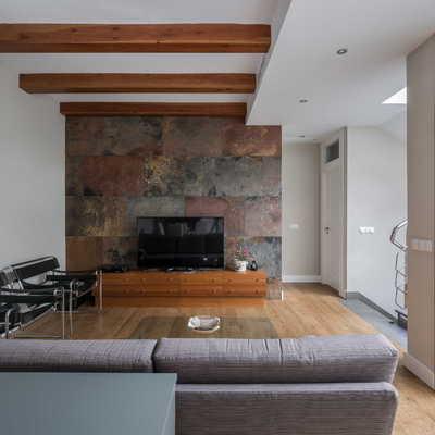 Casa Trinidad, un hogar entorno al patio interior