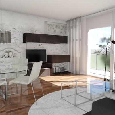 Proyecto interiorismo y reforma parcial de vivienda