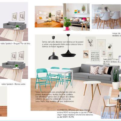 Reforma y estilismo inmobiliario en una vivienda para alquilar