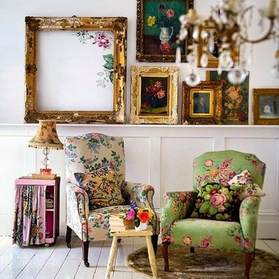Interiores de estilo Folk: ¿Te atreves?