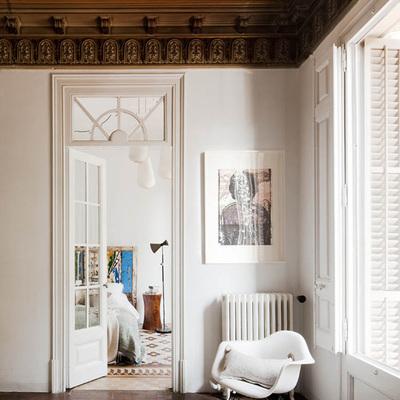 Modernista contemporáneo: vivienda en un edificio histórico