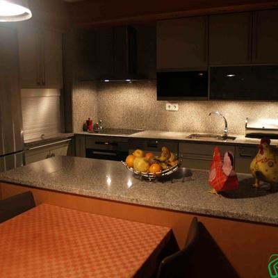 Estilos de iluminación del espacio de la cocina (Zaragoza)