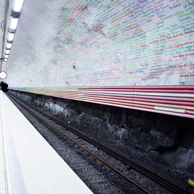 12 estaciones de metro convertidas en obras de arte