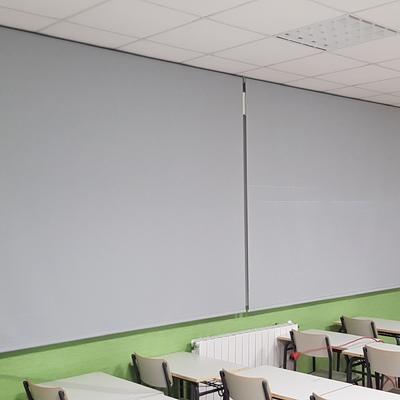 Suministro e instalación de estores enrollables de screen factor de apertura 5%