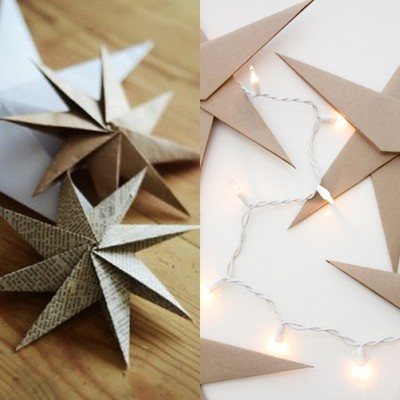 Decora con el arte del origami